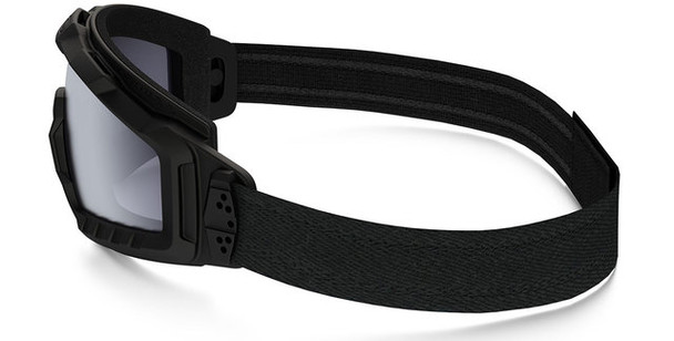 Oakley SI Ballistic Halo Goggle with Matte Black Frame and Grey Lens Side
