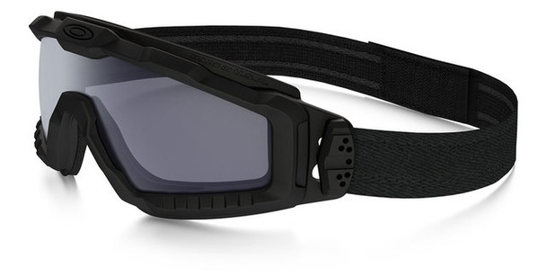 Oakley SI Ballistic Halo Goggle with Matte Black Frame and Grey Lens