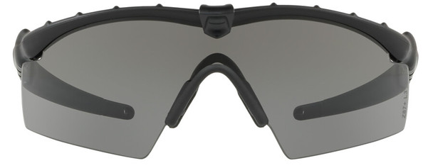 Oakley SI Industrial Ballistic M-Frame 2.0 with Matte Black Frame and Grey Lens - Front
