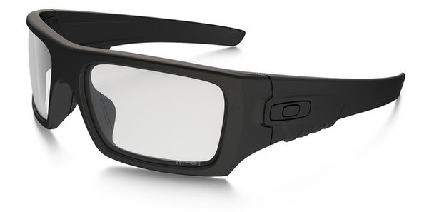 Oakley SI Ballistic Industrial Det Cord with Matte Black Frame and Clear Lens
