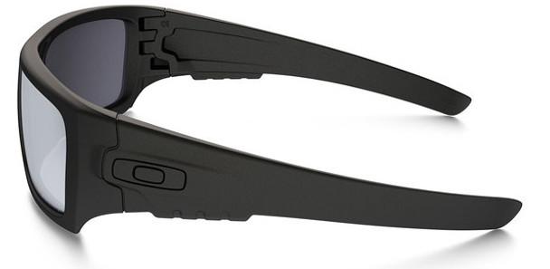 Oakley SI Ballistic Industrial Det Cord with Matte Black Frame and Grey Lens Side