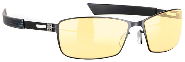 Gunnar Vayper Computer Glasses with Onyx Frame and Amber Lens