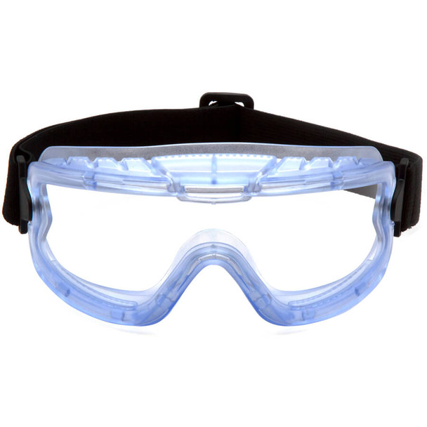 Pyramex GN904 Child Size Splash Goggle with Translucent Frame and Clear Lens - Front