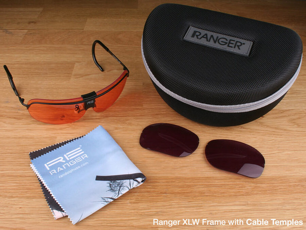 Randolph XLW 2-Lens Premium Clay Kit with HD Medium and CMT Lenses with Cable Temples