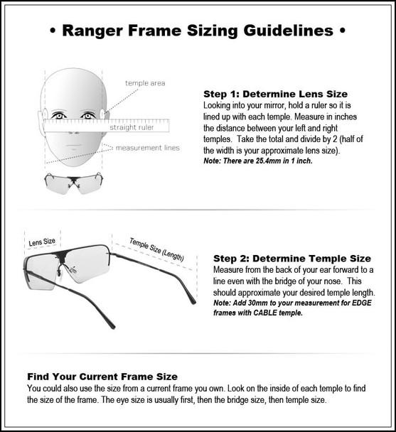 Randolph Frame Sizing Guide