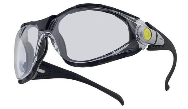 Elvex Pacaya LYVIZ Safety Glasses with Black Frame and Clear Anti-Fog Lens