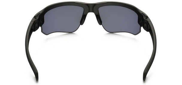 Oakley SI Speed Jacket Safety Sunglasses with Matte Black Frame and Gray Lens - Back