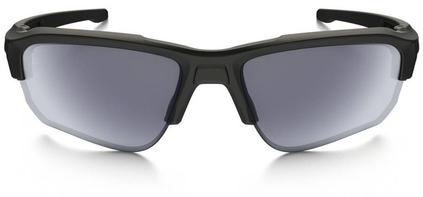 Oakley SI Speed Jacket Sunglasses with Matte Black Frame and Gray Lens - Front