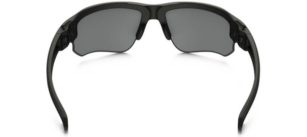 Oakley SI Speed Jacket Sunglasses with Matte Black Frame and Grey Polarized Lens - Back