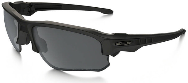 Oakley SI Speed Jacket Sunglasses with Matte Black Frame and Grey Polarized Lens