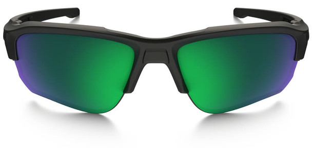 Oakley SI Speed Jacket Safety Sunglasses with Matte Black Frame and Prizm Maritime Polarized Lens - Front
