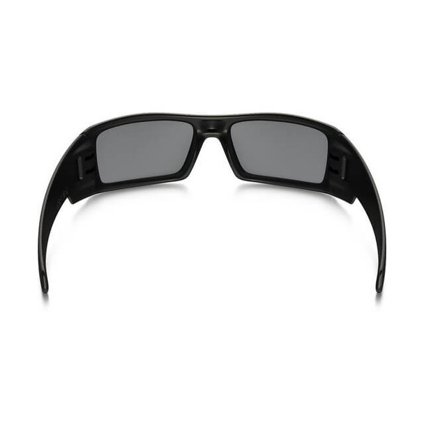 Oakley SI Thin Red Line Gascan Sunglasses with Satin Black Frame and Black Iridium Lens - Back