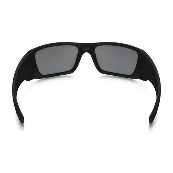 Oakley SI Thin Red Line Fuel Cell Sunglasses with Satin Black Frame and Black Iridium Lens - Back