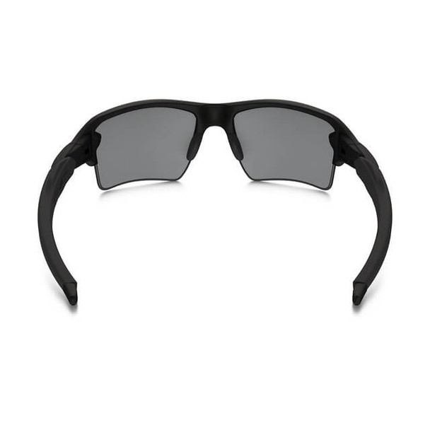 Oakley SI Thin Red Line Flak 2.0 XL Sunglasses with Satin Black Frame and Black Iridium Lens - Back