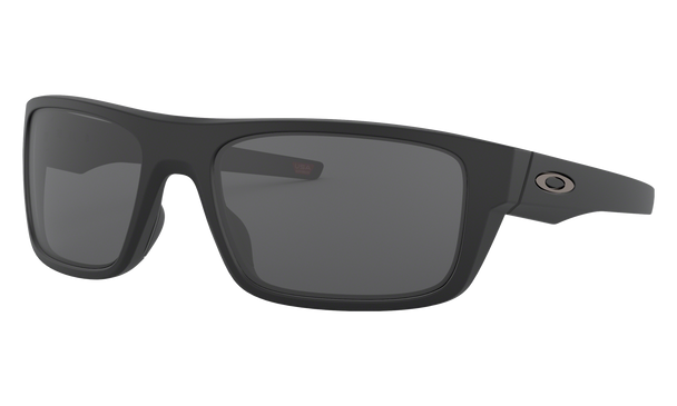 Oakley Drop Point Sunglasses with Matte Black Frame and Grey Lens OO9367-0160