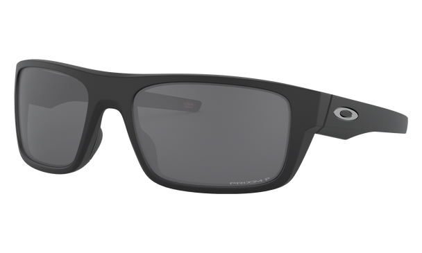 Oakley Drop Point Sunglasses with Matte Black Frame and Prizm Black Polarized Lens OO9367-0860