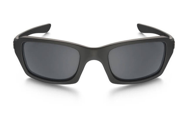 Oakley SI Fives Squared Sunglasses with Cerakote Cobalt Frame and Black Iridium Lens - Front