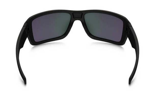 Oakley SI Double Edge Sunglasses with Matte Black Frame and Prizm Maritime Polarized Lens - Back