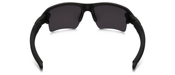 Oakley SI Blackside Flak 2.0 XL Sunglasses with Satin Black Frame and Prizm Black Polarized Lens - Back