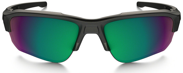 Oakley SI Speed Jacket Safety Sunglasses with Satin Black Frame and Prizm Shallow Water Polarized Lens - Front