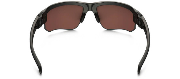 Oakley SI Speed Jacket Sunglasses with Matte Black Frame and Prizm Deep Water Polarized Lens - Back