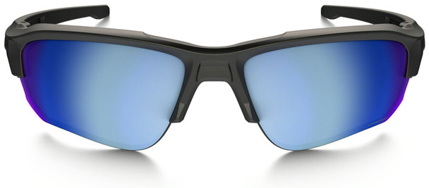 Oakley SI Speed Jacket Sunglasses with Matte Black Frame and Prizm Deep Water Polarized Lens - Front