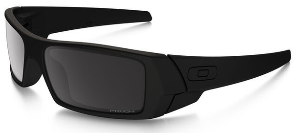Oakley SI Blackside Gascan Sunglasses with Satin Black Frame and Prizm Black Polarized Lens