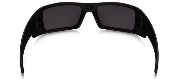 Oakley SI Blackside Gascan Sunglasses with Satin Black Frame and Prizm Black Polarized Lens - Back