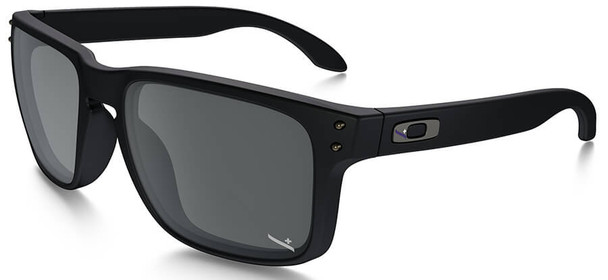Oakley SI Infinite Hero Holbrook Sunglasses with Blue Black Frame and Black Iridium Lens