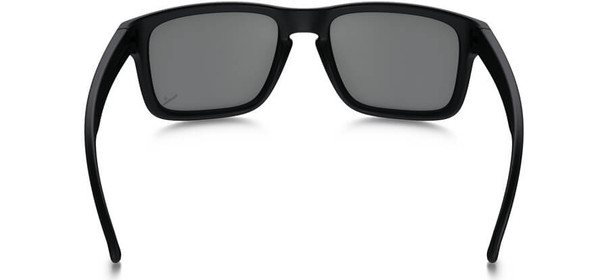 Oakley SI Infinite Hero Holbrook Sunglasses with Blue Black Frame and Black Iridium Lens - Back