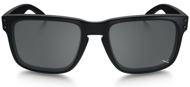 Oakley SI Infinite Hero Holbrook Sunglasses with Blue Black Frame and Black Iridium Lens - Front