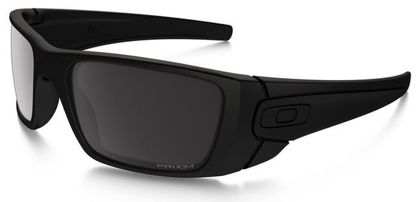 Oakley SI Blackside Fuel Cell Sunglasses with Satin Black Frame and Prizm Black Polarized Lens