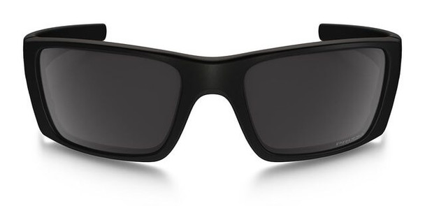 Oakley SI Blackside Fuel Cell Sunglasses with Satin Black Frame and Prizm Black Polarized Lens - Front