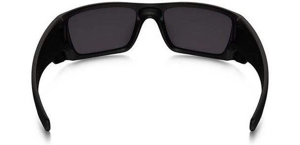 Oakley SI Blackside Fuel Cell Sunglasses with Satin Black Frame and Prizm Black Polarized Lens - Back