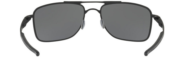 Oakley Gauge 8 Sunglasses with Matte Black Frame-62 and Prizm Black Iridium Polarized Lens - Back