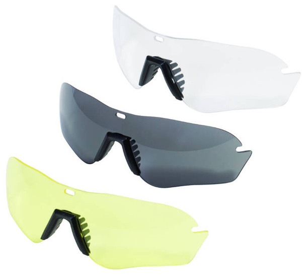 Uvex XMF Tactical Safety Glasses Replacement Lens