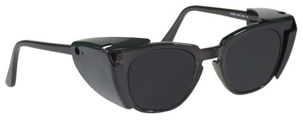 Phillips Solar Eclipse (Welding) Glasses with Black Frame and Shade 14 Lens with Side Shields