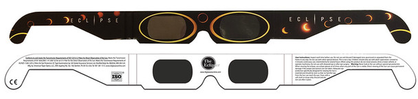 Eclipser Paper Sun Circles ISO Certified Solar Eclipse Glasses