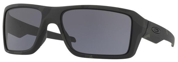 Oakley SI Double Edge Sunglasses with Multicam Black Frame and Grey Lens