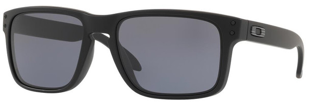 Oakley SI Holbrook Sunglasses with Matte Black Tonal USA Flag Frame and Grey Lens OO9102-E555