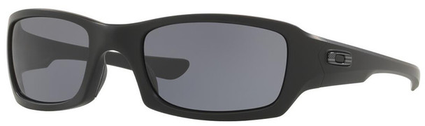Oakley SI Fives Squared Sunglasses with Matte Black Tonal USA Flag Frame and Grey Lens