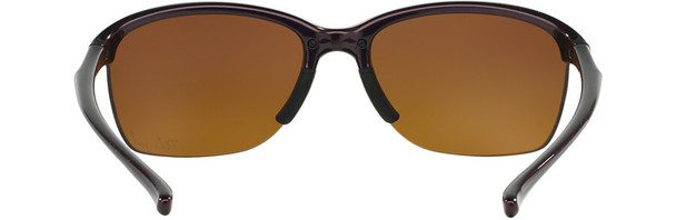 Oakley Unstoppable Sunglasses with Raspberry Spritzer Frame and Brown Gradient Polarized Lens - Back