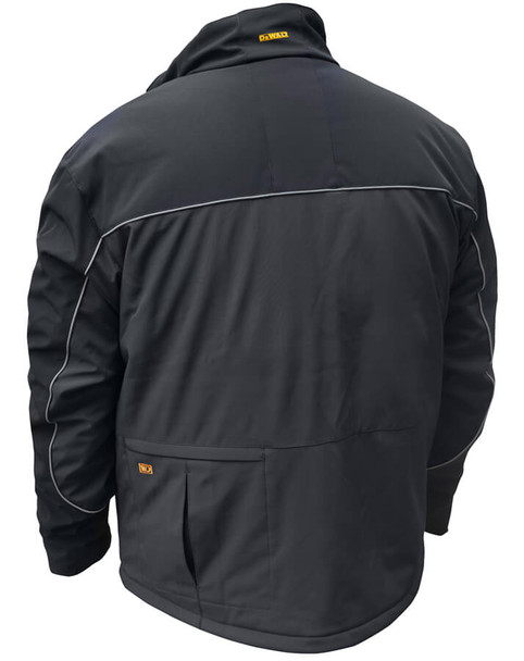 DeWalt Black Softshell Heated Jacket