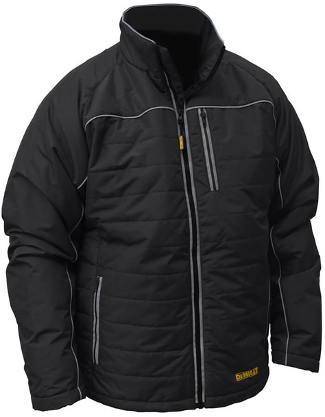 DeWalt Black Quilted Heatable Jacket (without Battery)