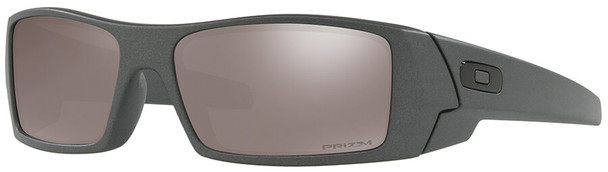 Oakley Gascan Sunglasses with Steel Frame and Prizm Black Polarized Lens