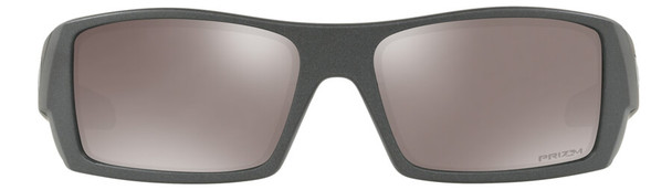 Oakley Gascan Sunglasses with Steel Frame and Prizm Black Polarized Lens - Front