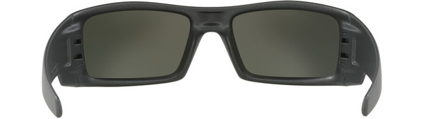 Oakley Gascan Sunglasses with Steel Frame and Prizm Black Polarized Lens - Back