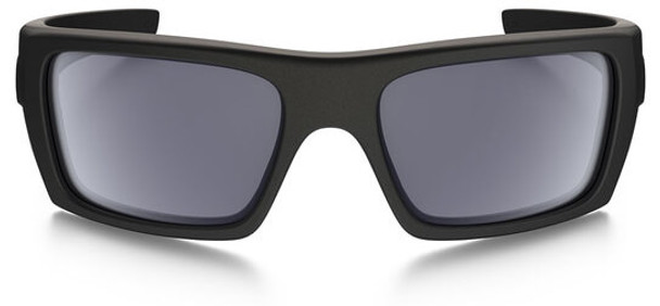 Oakley SI Ballistic Det Cord Sunglasses with Matte Black Tonal Flag Frame and Grey Lens - Front