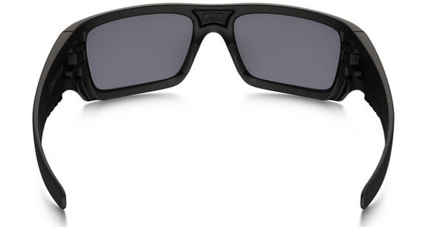 Oakley SI Ballistic Det Cord Sunglasses with Matte Black Tonal Flag Frame and Grey Lens - Back