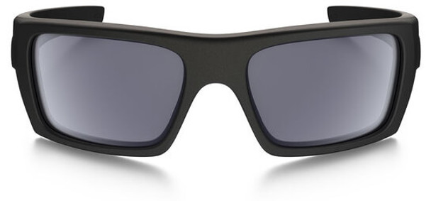 Oakley SI Ballistic Det Cord Sunglasses with Matte Black USA Flag Frame and Grey Lens - Front
